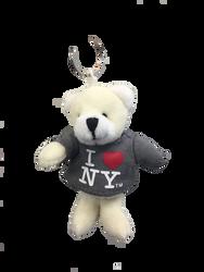 I Love NY Polar Bear Plush Key Chain Photo
