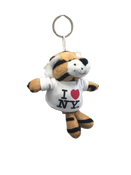I Love NY Tiger Plush Key Chain