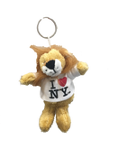 I Love NY Lion Plush Key Chain
