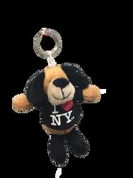 I Love NY Puppy Plush Key Chain Photo