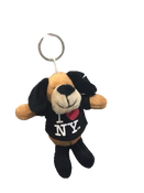 I Love NY Puppy Plush Key Chain