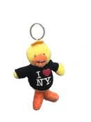 I Love NY Duck Plush Key Chain