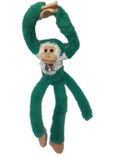I Love NY Green Plush Screaming Monkey