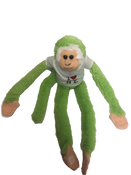 I Love NY Light Green Plush Screaming Monkey