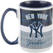 New York Yankees Striped Mug