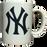 Classic White NY Yankees Mug photo
