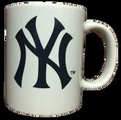Classic White NY Yankees Mug
