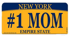 #1 Mom NY License Plate Photo