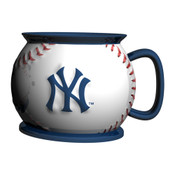 New York Yankees Baseball Shaped Mug