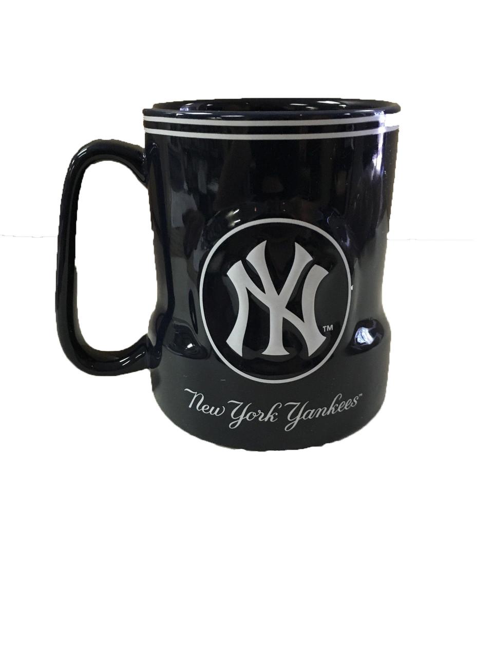 NY Yankees 18oz Navy Coffee Mug  photo