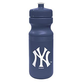 NY Yankees Navy Squeeze Water Bottle photo