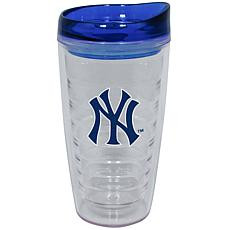 Yankees Textured Plastic Water Bottle with Lid  Photo