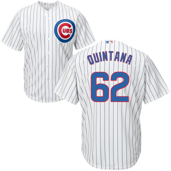 27ebb85ea11 Jose Quintana Youth Jersey - Chicago Cubs Replica Kids Home Jersey Photo.  Loading zoom