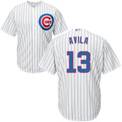 Alex Avila Youth Jersey - Chicago Cubs Replica Kids Home Jersey