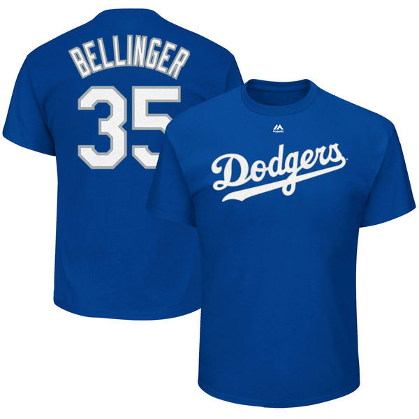Cody Bellinger T-Shirt - Blue LA Dodgers Adult T-Shirt photo