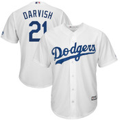 Yu Darvish Jersey - LA Dodgers Replica Adult Home Jersey