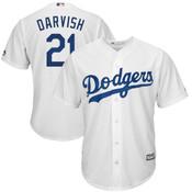 Yu Darvish Youth Jersey - LA Dodgers Replica Kids Home Jersey
