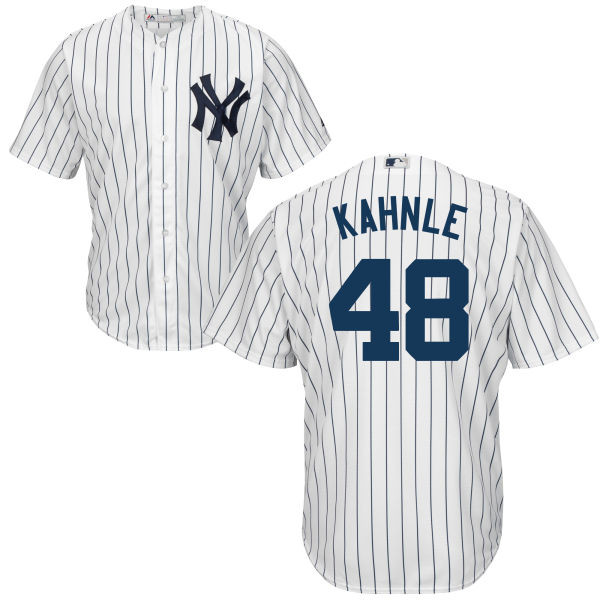 Tommy Kahnle Youth Jersey - NY Yankees Replica Kids Home Jersey  photo