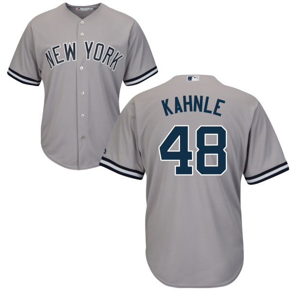 Tommy Kahnle Jersey - NY Yankees Replica Adult Road Jersey photo