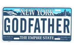 Godfather NY License Plate Photo