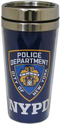 NYPD Blue Steel Travel Mug