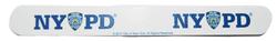 """NYPD White/ Logo 7"""" Nail File  Photo"""