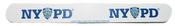 """NYPD White/ Logo 7"""" Nail File"""