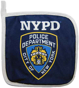 NYPD Blue Pot Holder