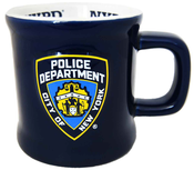 NYPD Blue/ Shield Embossed Mug