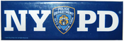 NYPD Blue Panoramic Postcard Magnet