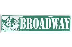 Broadway Street Sign photo