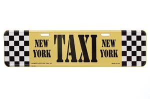 Taxi Street Sign photo