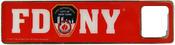 FDNY Red Bottle Opener Magnet