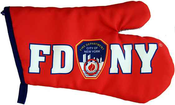 FDNY Red/Blue Oven Mitten