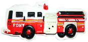 FDNY Fire Engine Poly Magnet