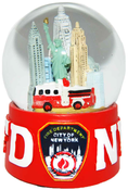 FDNY Red 65mm Waterball