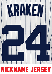 Kraken Youth Jersey - Gary Sanchez Yankees Kids Nickname Home Jersey  Photo