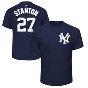 Giancarlo Stanton Youth T-Shirt - Navy NY Yankees Kids T-Shirt