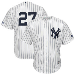 Giancarlo Stanton No Name Jersey - NY Yankees Number Only Replica Jersey Photo