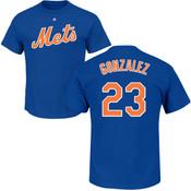 Adrian Gonzalez Youth T-Shirt - Blue NY Mets Kids T-Shirt