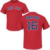 Andrew Benintendi Youth T-Shirt - Navy Boston Red Sox Kids T-Shirt