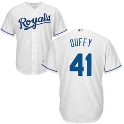 Danny Duffy Youth Jersey - Kansas City Royals Replica Kids Home Jersey Photo