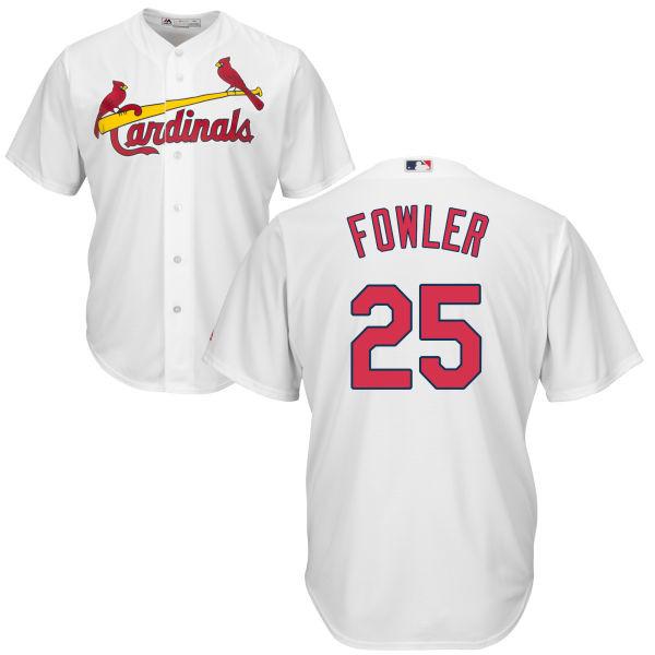 size 40 cc9a9 47fec Dexter Fowler Jersey - St Louis Cardinals Replica Adult Home Jersey