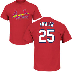 Dexter Fowler Youth T-Shirt - Red St Louis Cardinals Kids T-Shirt Photo
