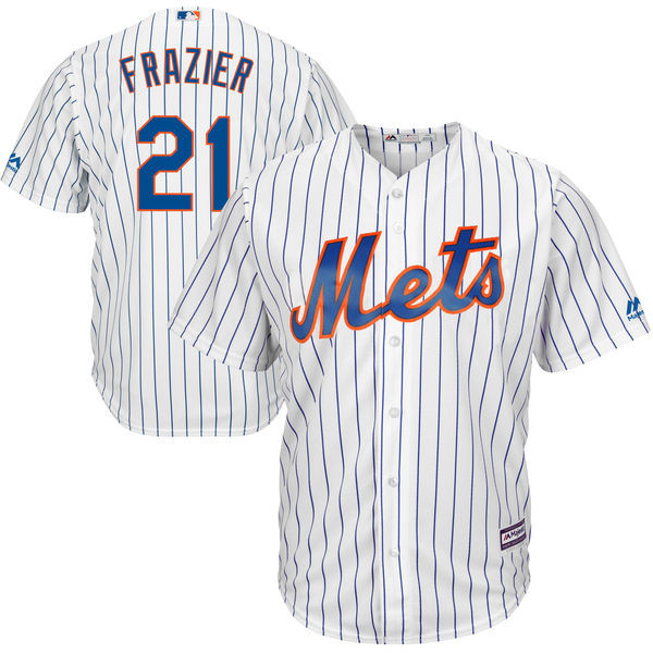 official photos 15561 3756c Todd Frazier Jersey - NY Mets Replica Adult Home Jersey