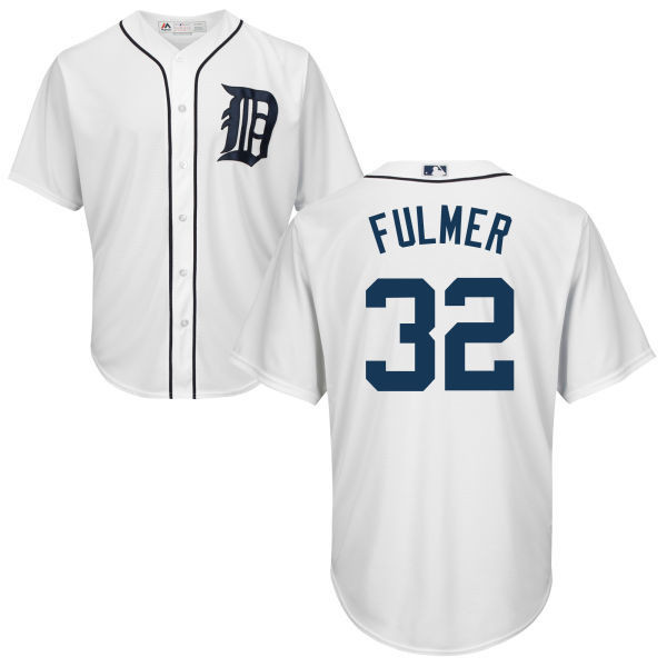 more photos c84fd baf00 Michael Fulmer Youth Jersey - Detroit Tigers Replica Kids Home Jersey