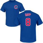 Ian Happ Youth T-Shirt - Blue Chicago Cubs Kids T-Shirt