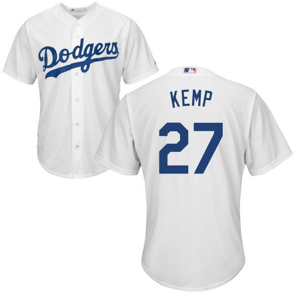 Matt Kemp Jersey - LA Dodgers Replica Adult Home Jersey photo