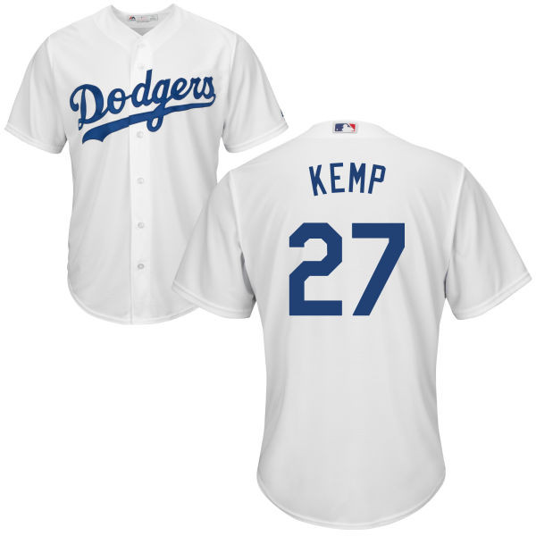Matt Kemp Youth Jersey - LA Dodgers Replica Kids Home Jersey photo