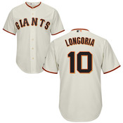 Evan Longoria Jersey - San Francisco Giants Replica Adult Home Jersey